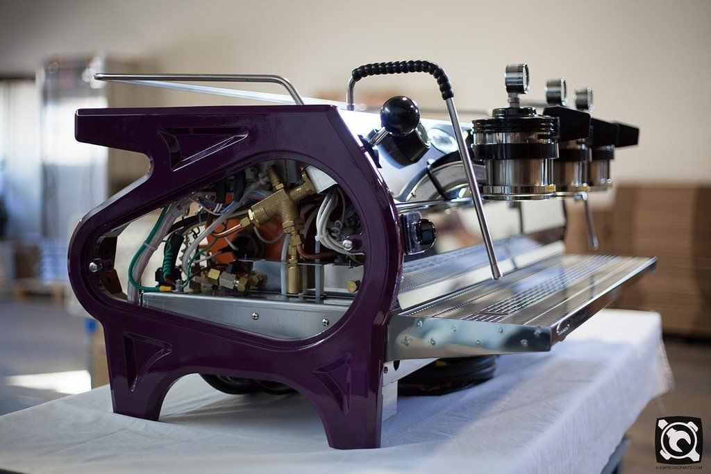 Custom La Marzocco Strada Espresso Machine (Purple