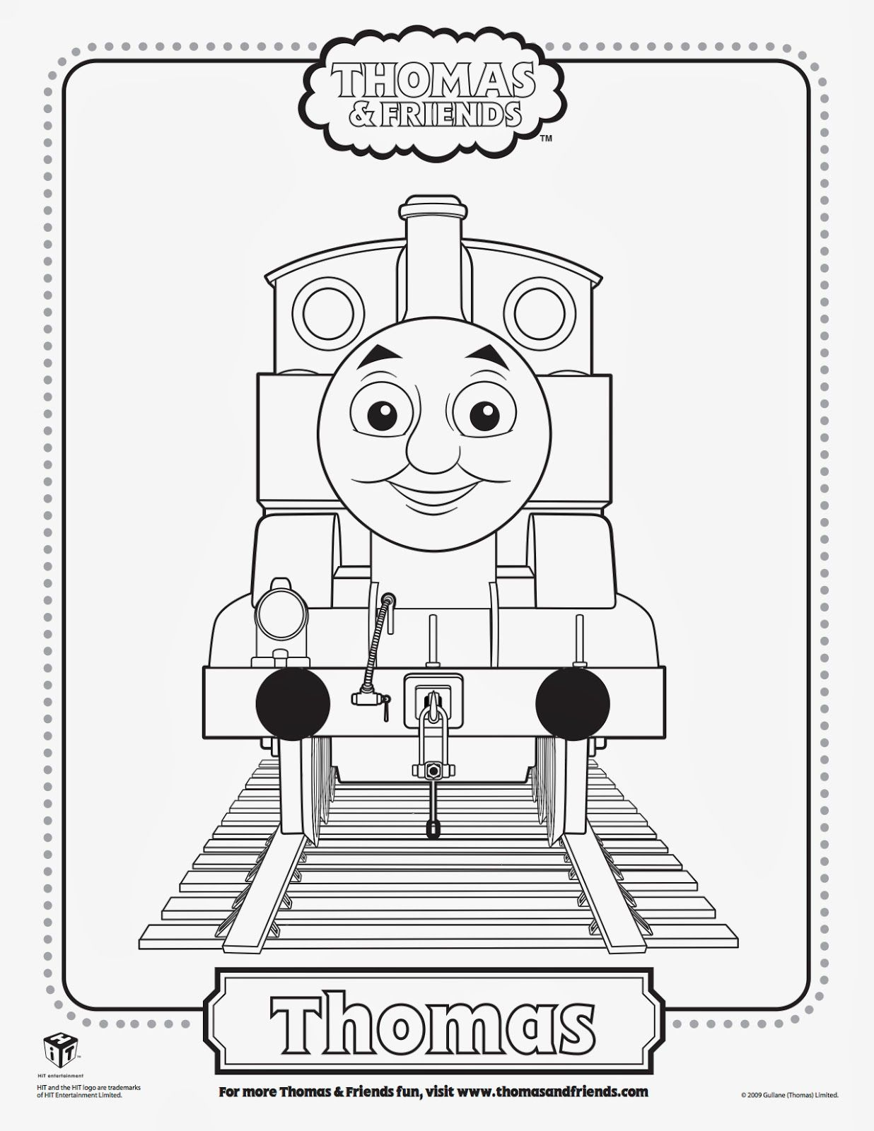 Free Thomas The Tank Engine Percy And Belle Printables