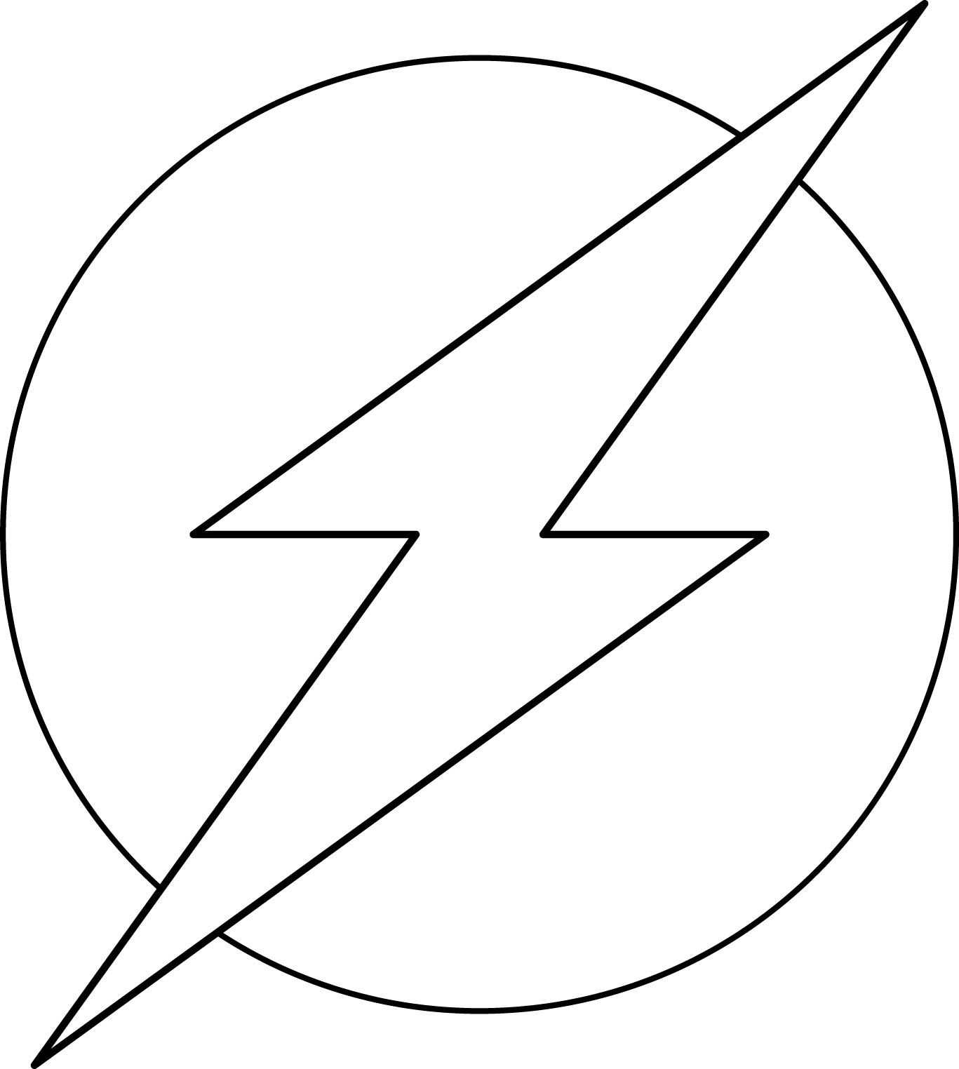 Super Heroes Logos Coloring Pages