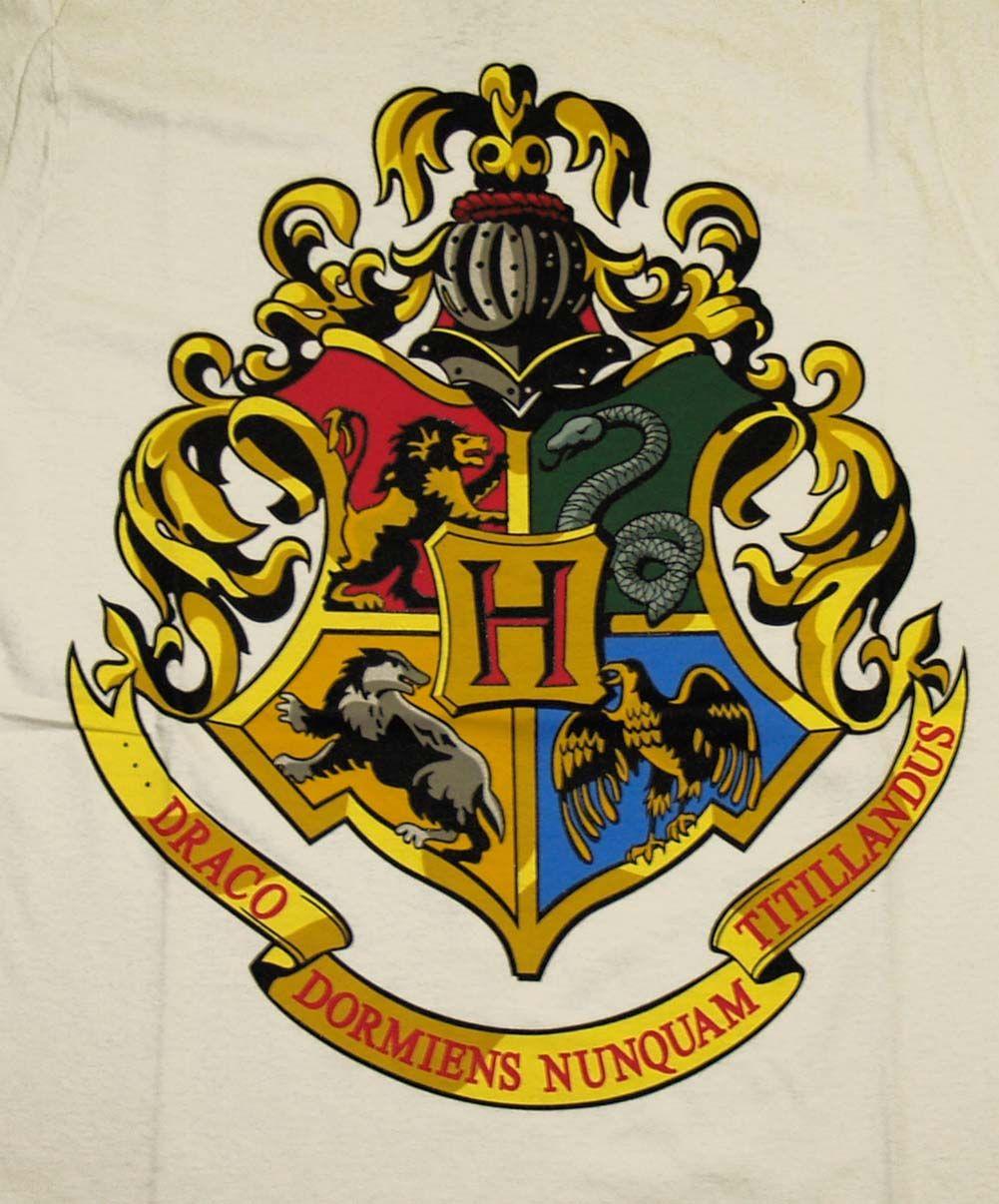 Hogwarts School Crest Harry Potter Pinterest Search