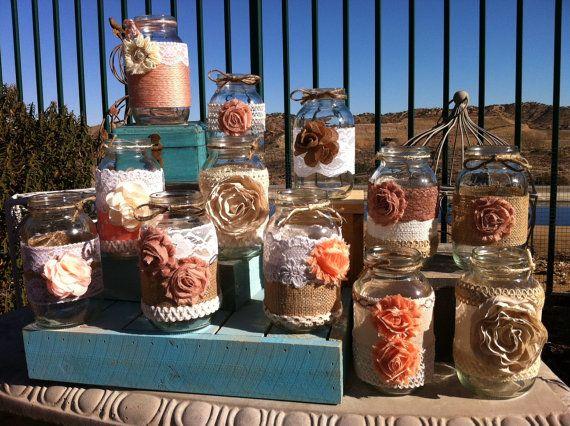 Best 25+ Barn Wedding Centerpieces Ideas On Pinterest