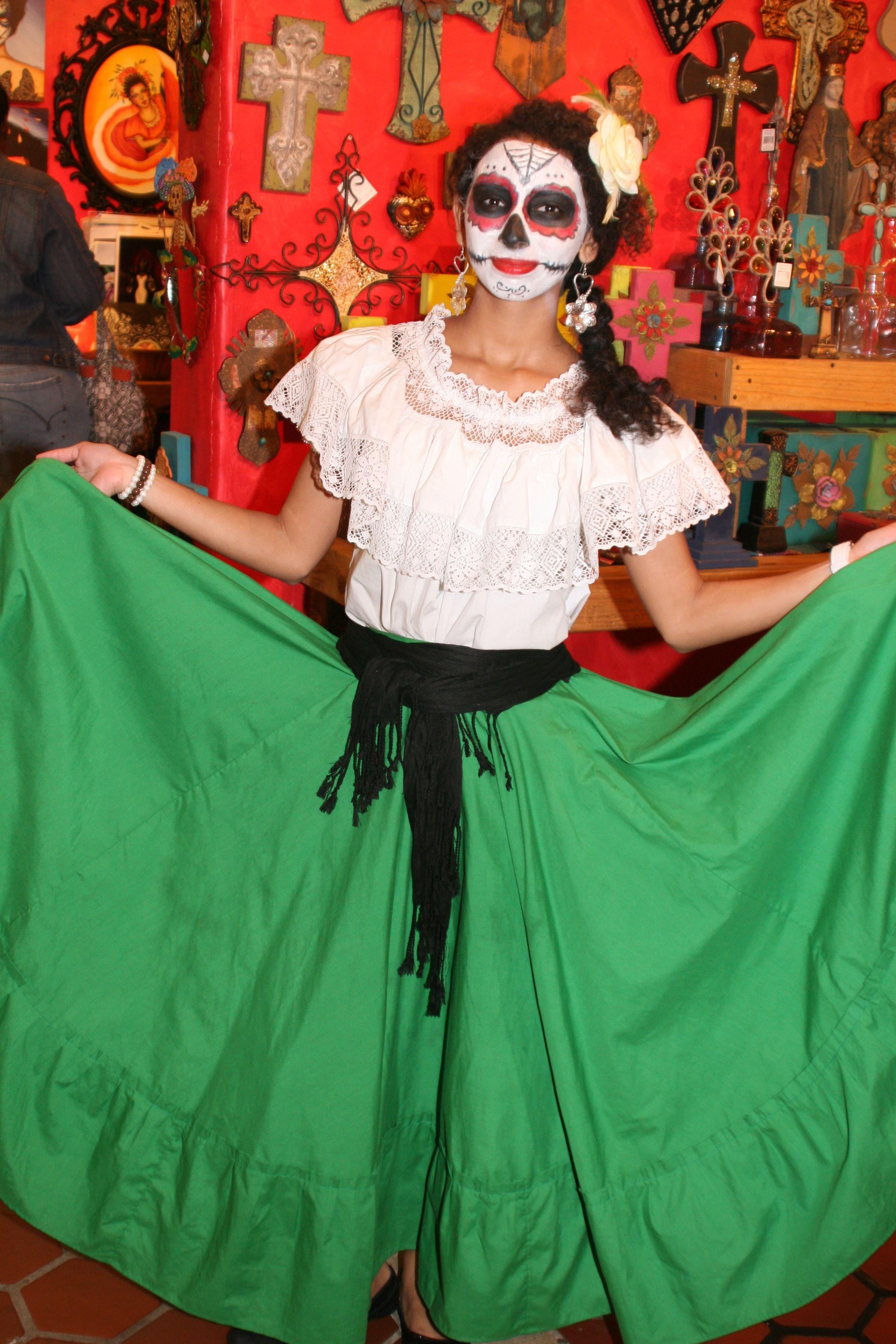 Day of the Dead costume inspiration Dia de los Muertos