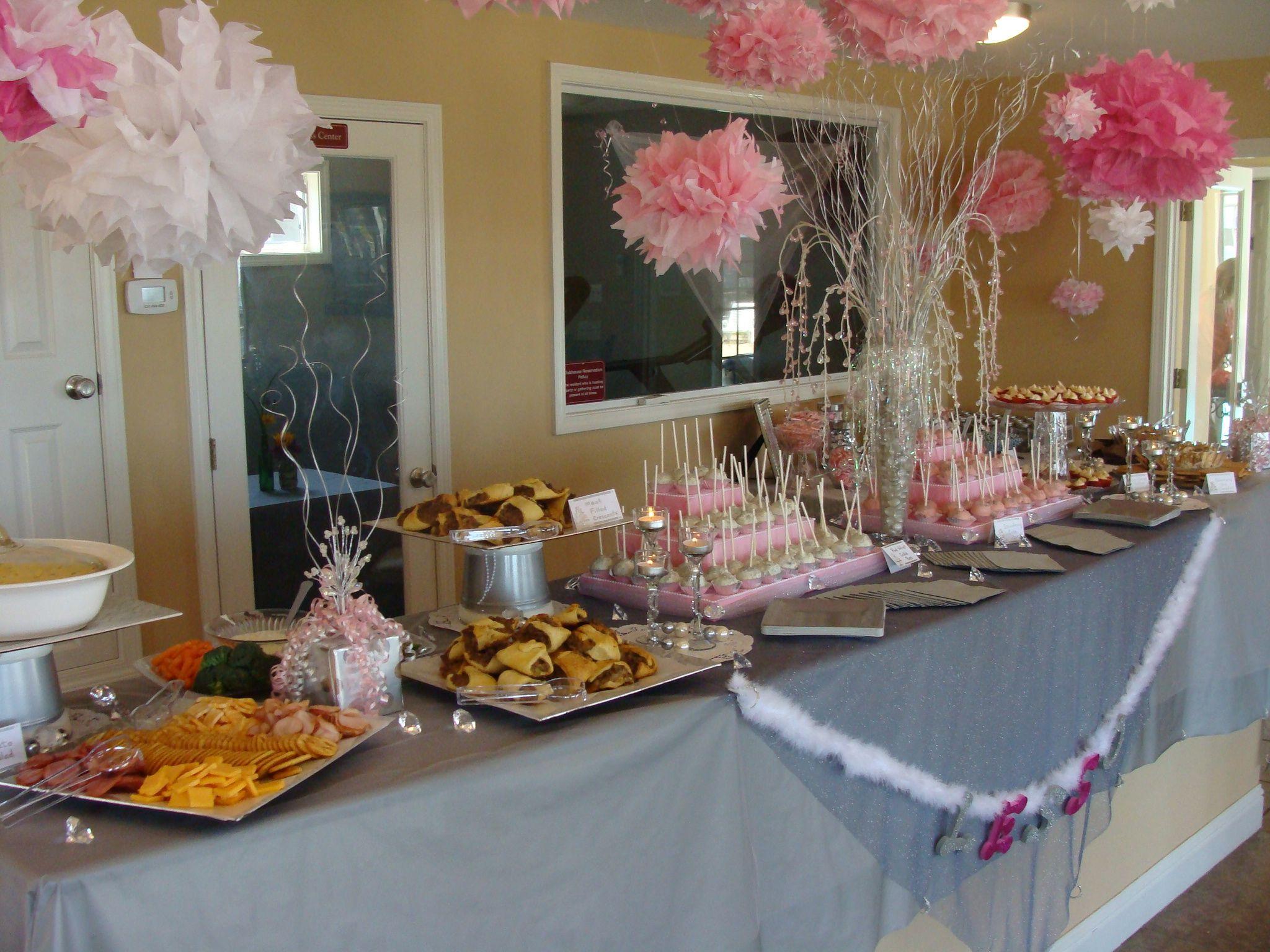 Wedding Shower Food Table