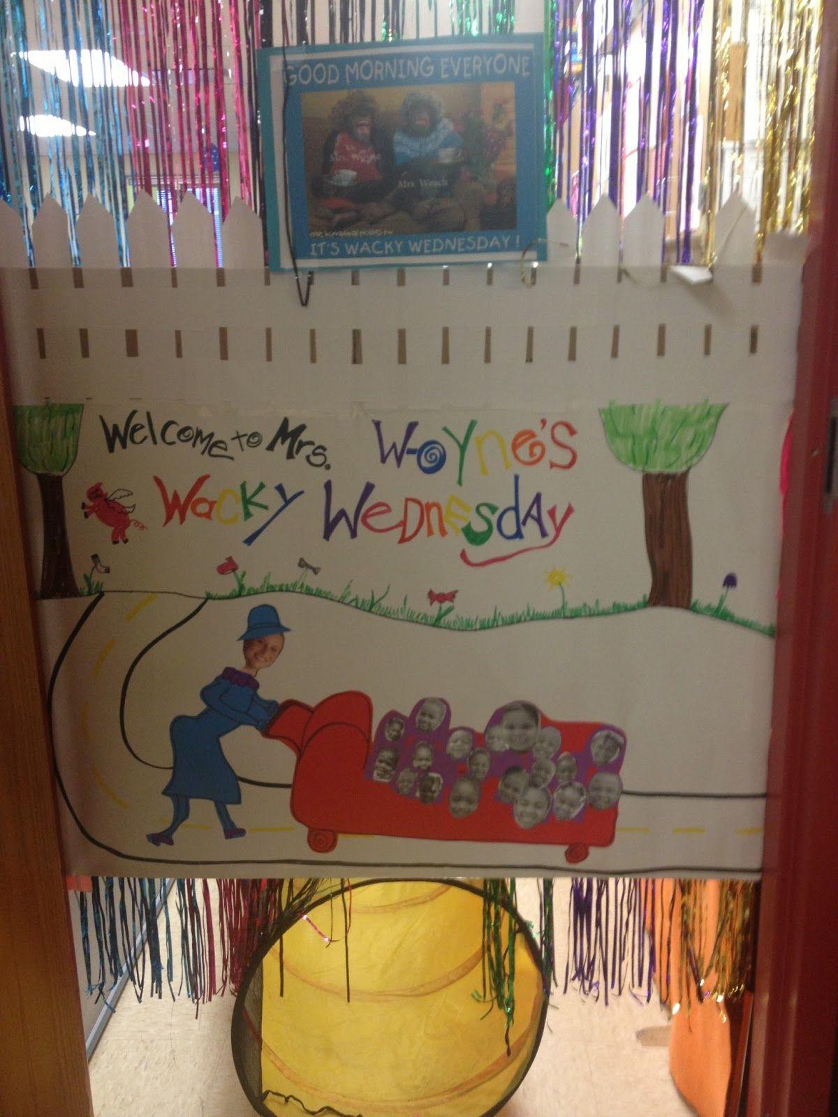 Coyne S Crazy Fun Preschool Classroom Wacky Wednesday Celebration