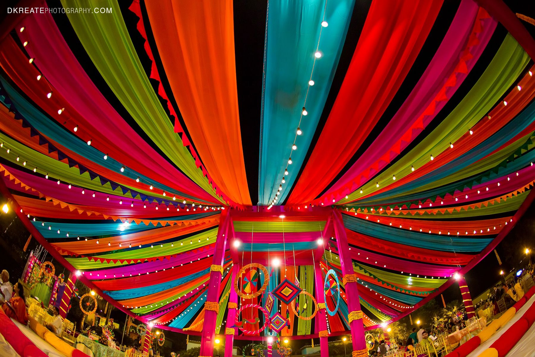 Indian wedding backdrop ideas. Colorful. Mela themed