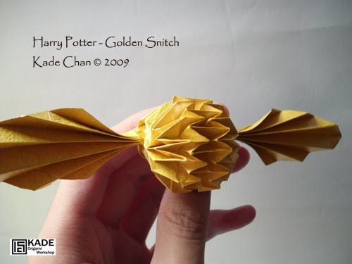 Origami Harry Potter Origami Tutorial Lets Make It