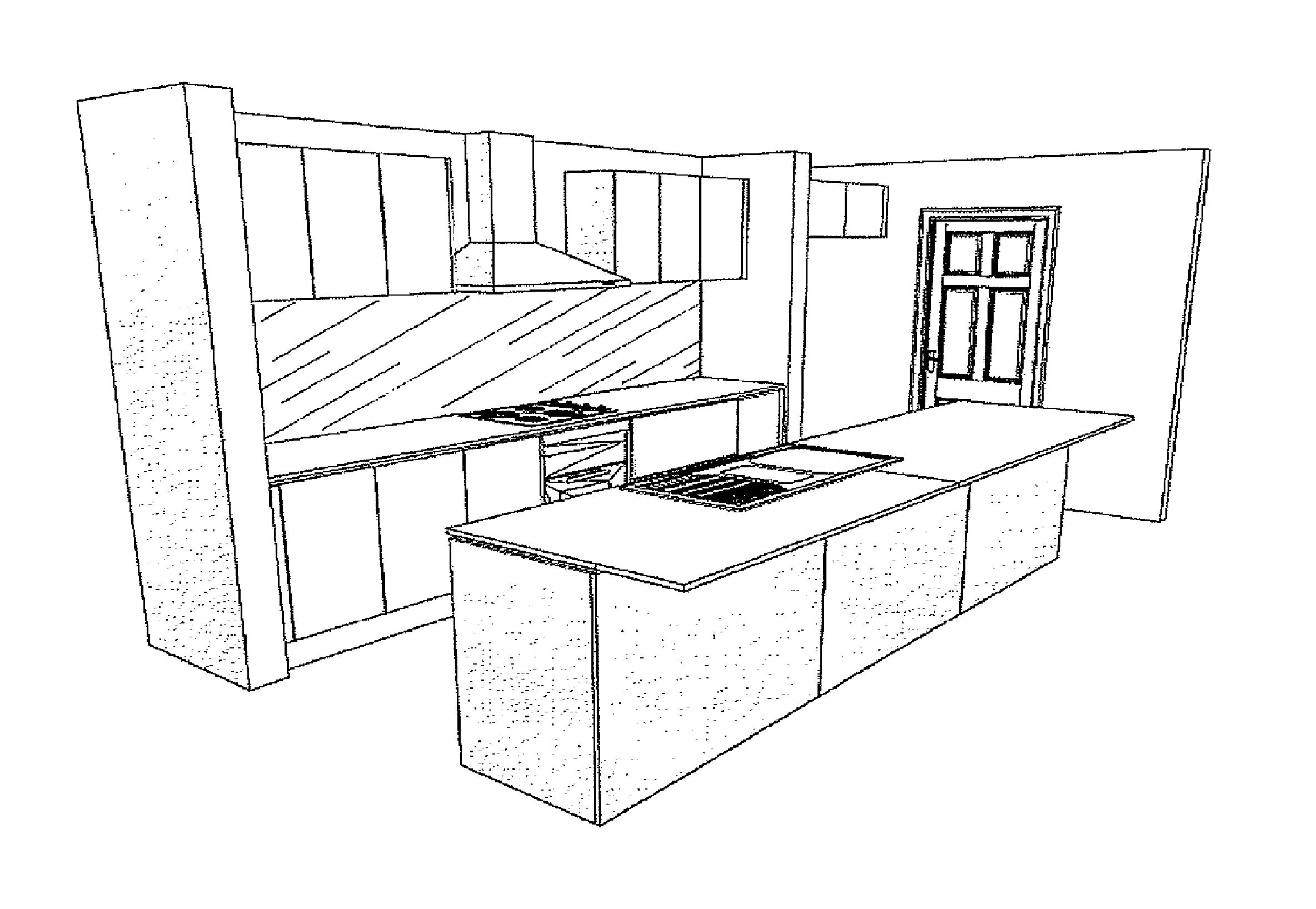 Simple Kitchen Drawing Ideas Kitchen Ideas Design