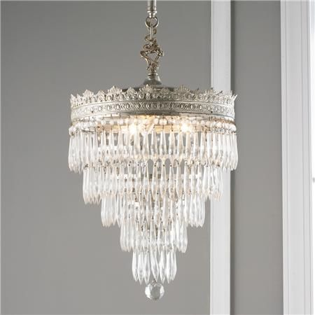Vintage Tiered Wedding Cake Crystal Chandelier