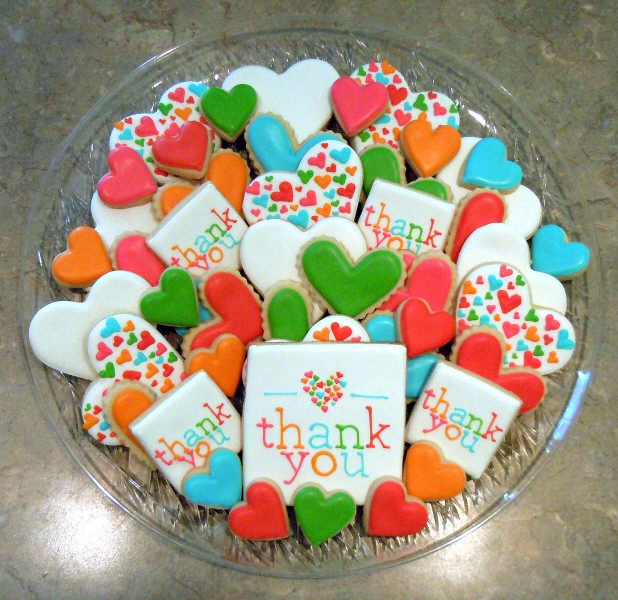 Bake Up A Platter Of Thank You Cookies To Deliver To A