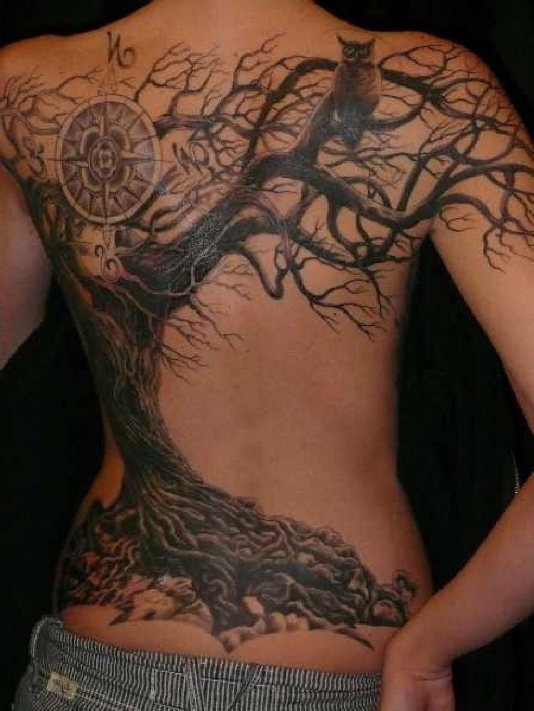 Amazing Dead Tree Tattoo Design tattoo idea Pinterest