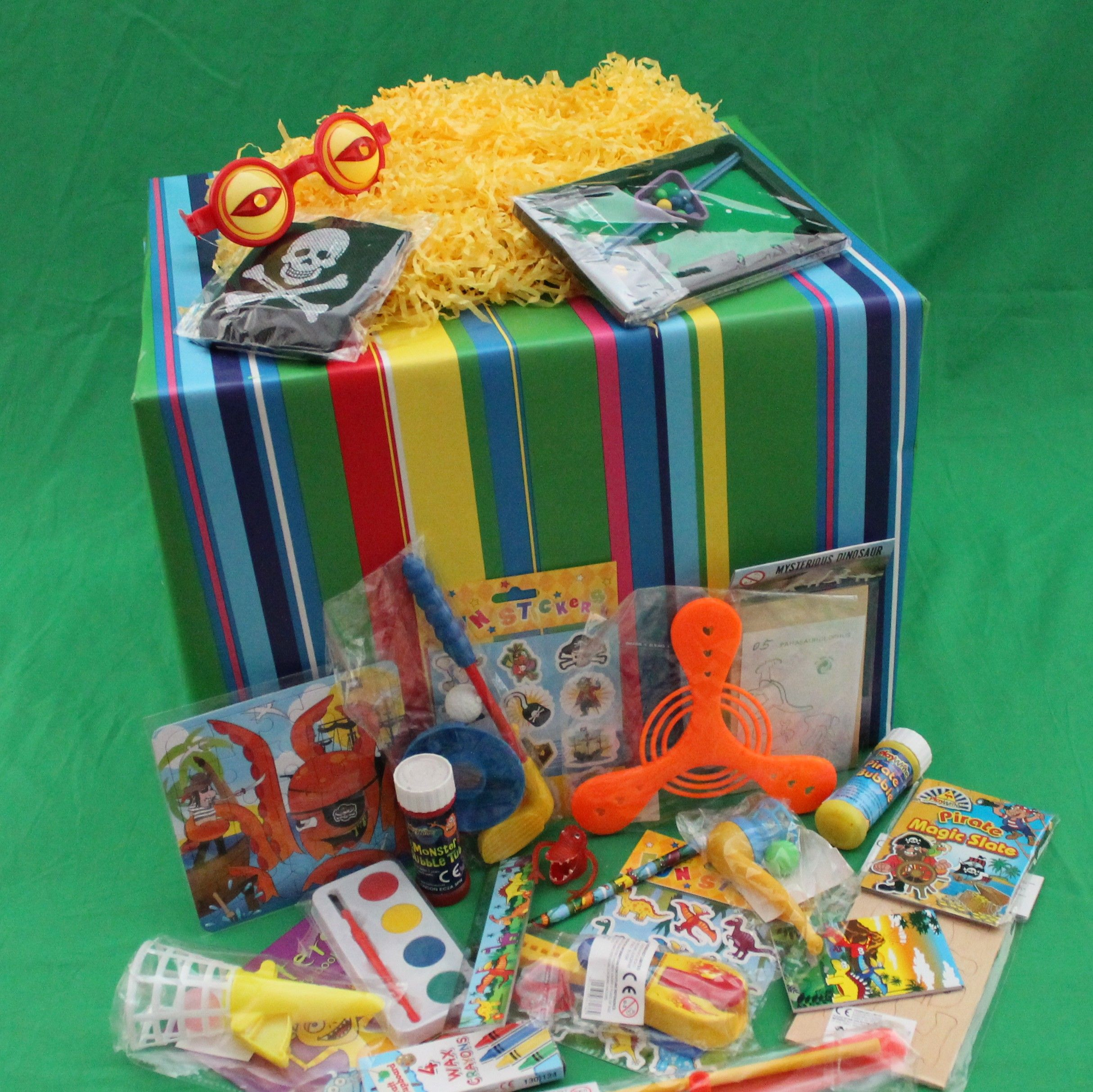 Boys Lucky Dip Box'the Lucky One!' Why just have fun