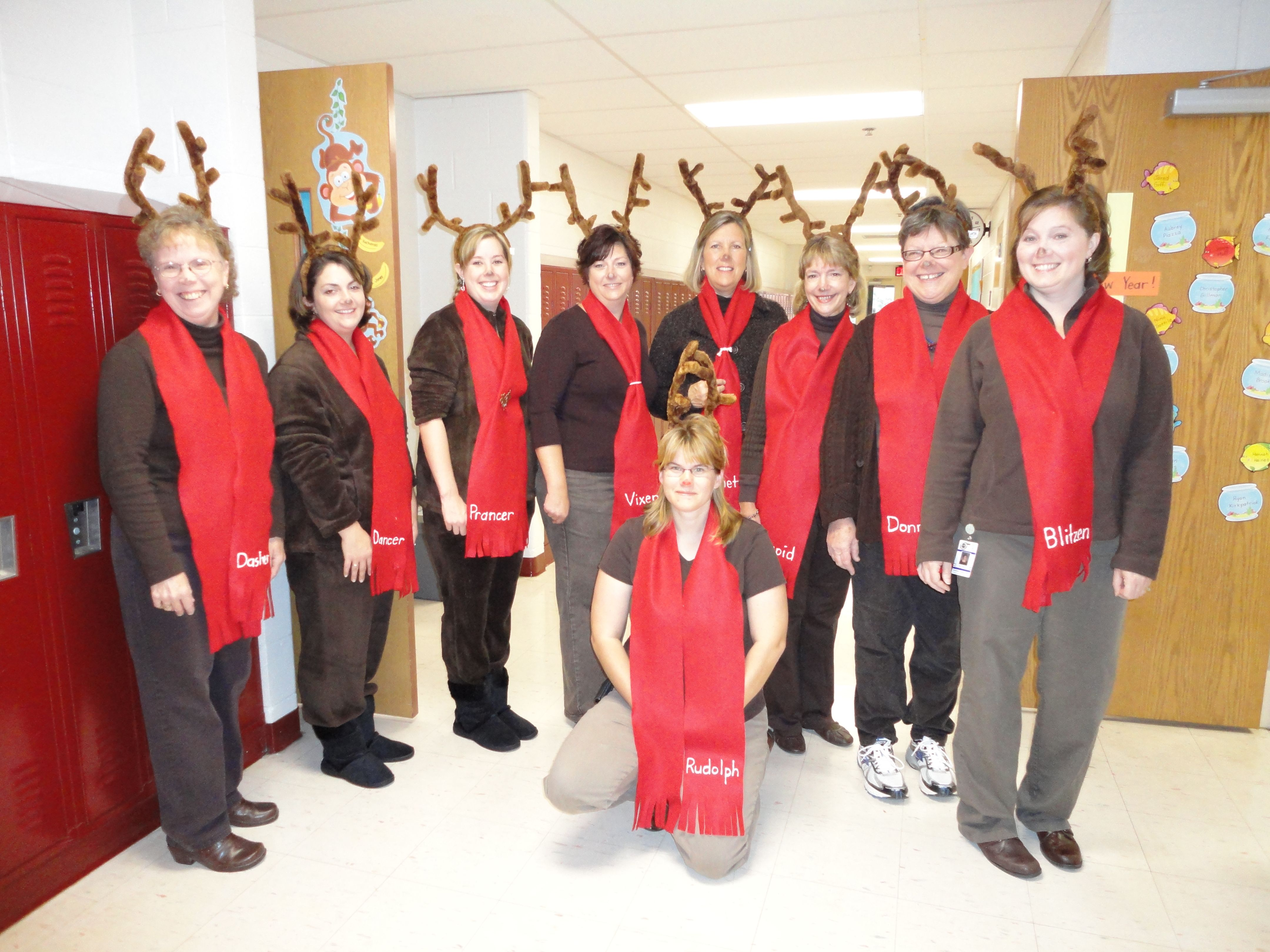 easy reindeer costume School / kids Pinterest