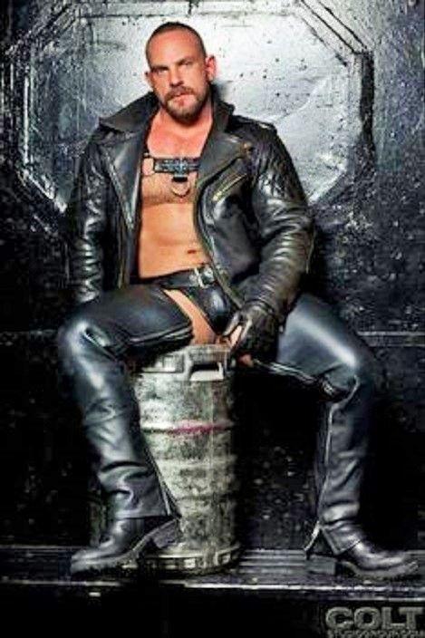 Samuel Colt Gay Pornostar All In Leather Leather Pinterest