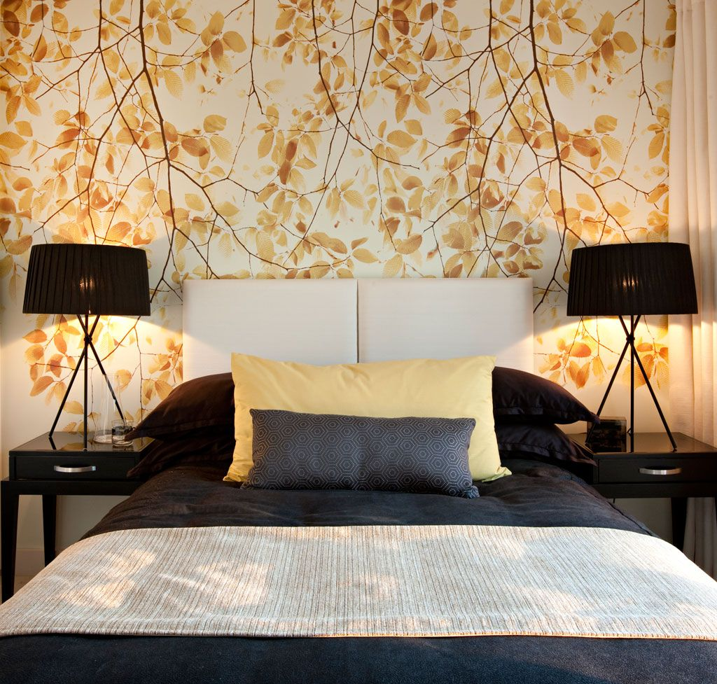 20 awesome wallpaper designs for bedroom | pattern wallpaper