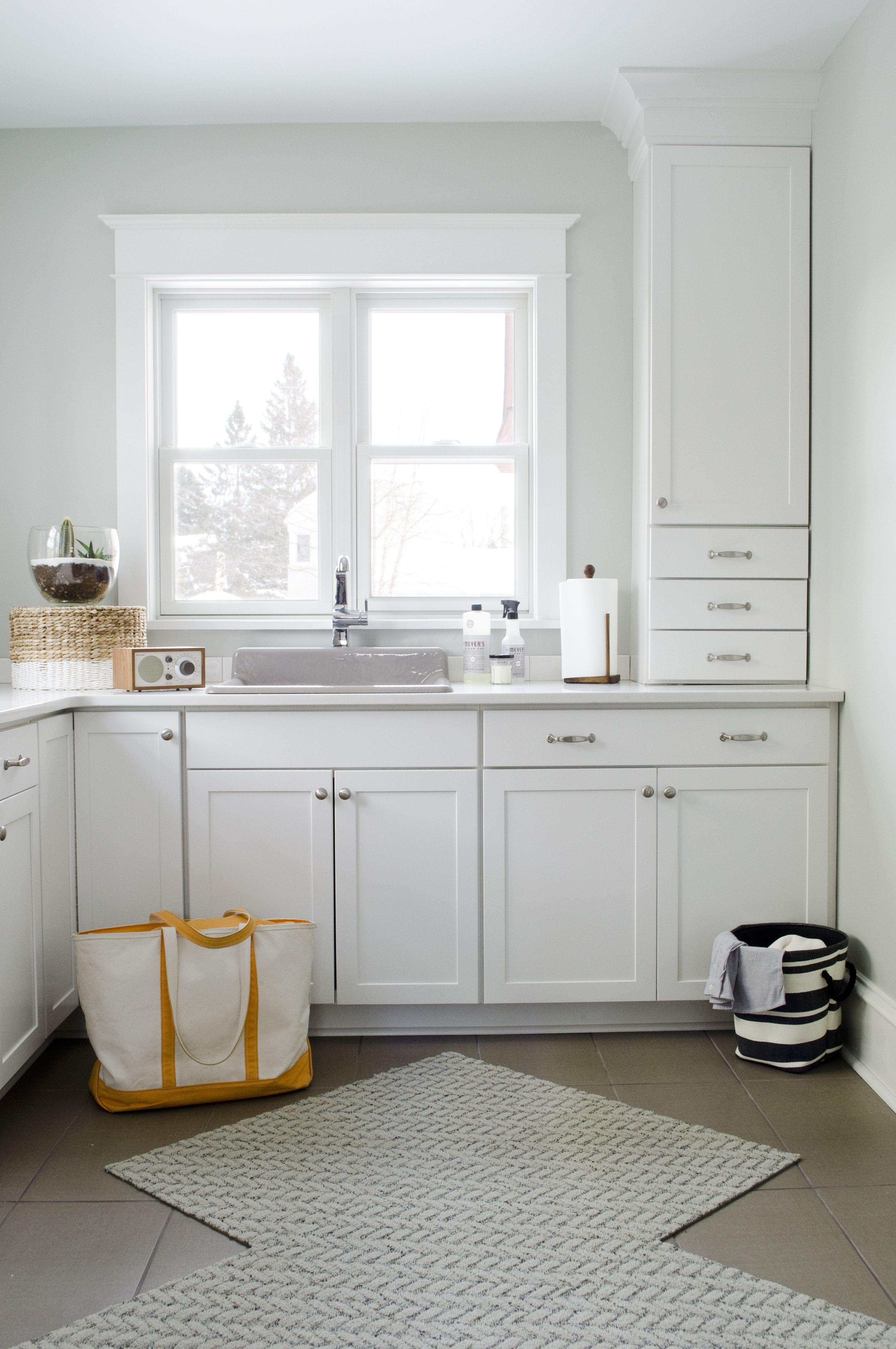 Aristokraft Winstead door style in white provides a