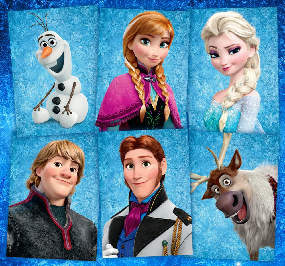 frozen characters Google Search Frozen characters
