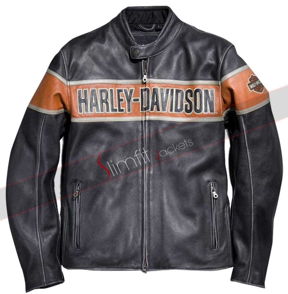 Men's Victory Harley Davidson Jacket Men's Victory