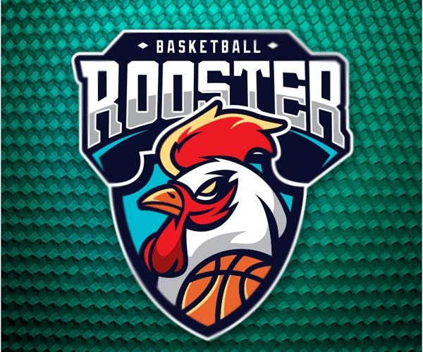 baloncestogallologodiseño SLAM Pinterest Sports