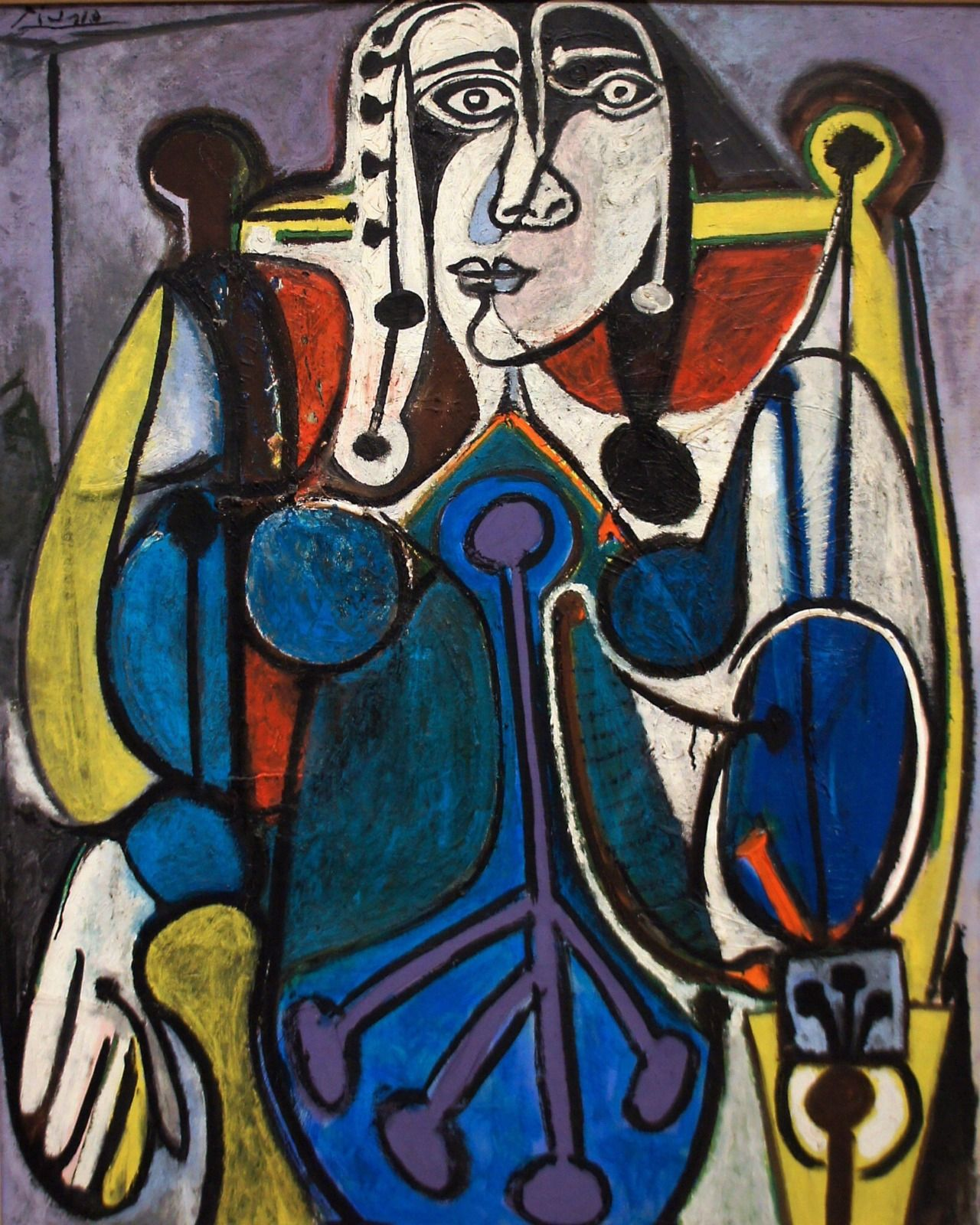 Dionyssos Pablo Picasso Women In Blue Year