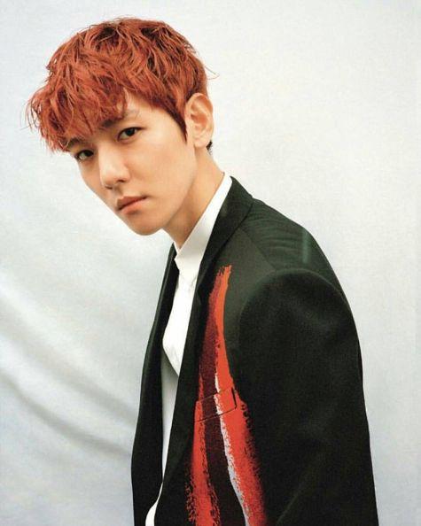 ผลการค้นหารูปภาพสำหรับ baek hyun 2017 magazine