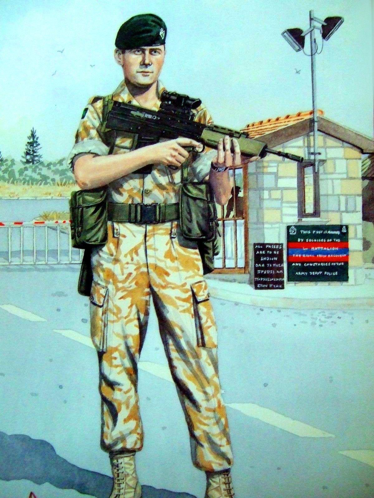 1st Battalion Royal Irish Regiment in Cyprus, 1993