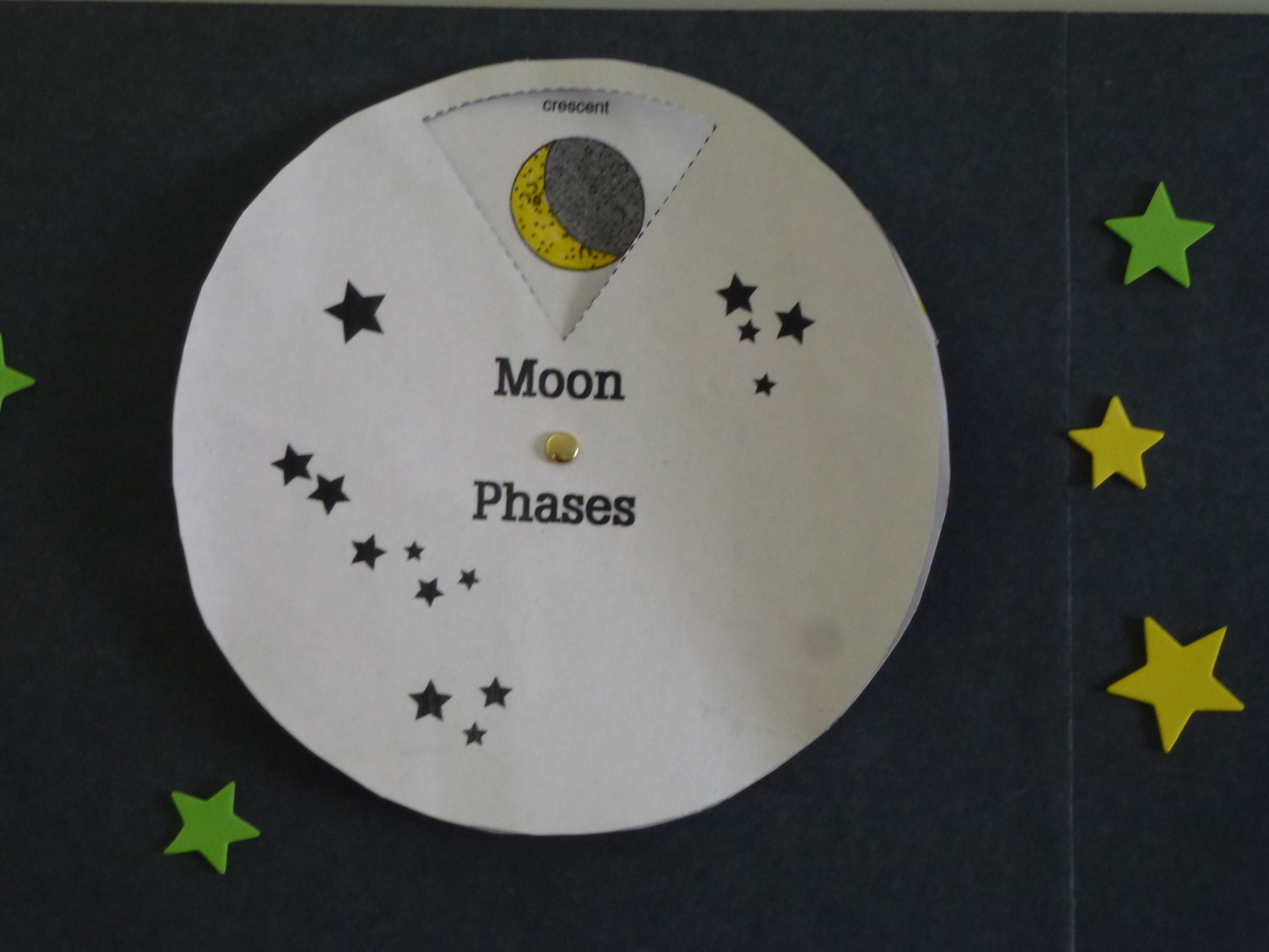 Moon Phase Wheel Printable
