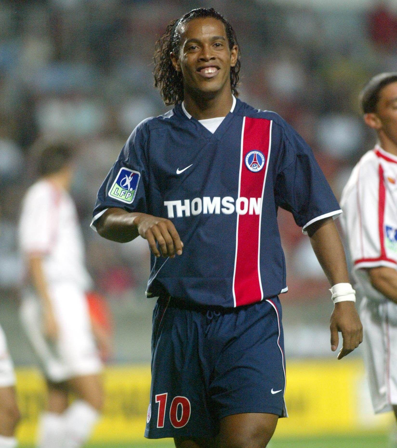 Last but not least Ronaldinho. Il n'aura rien gagné avec