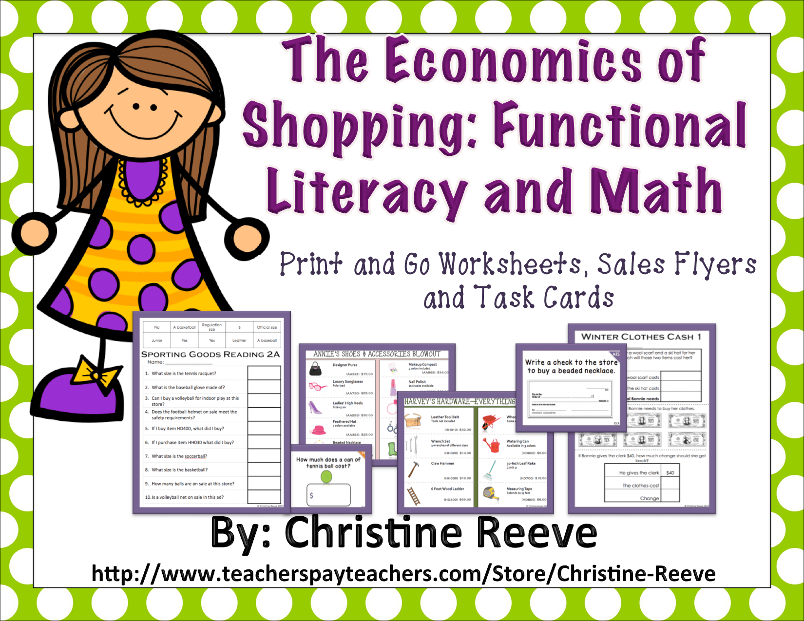 Economics Of Shopping Functional Literacy And Math