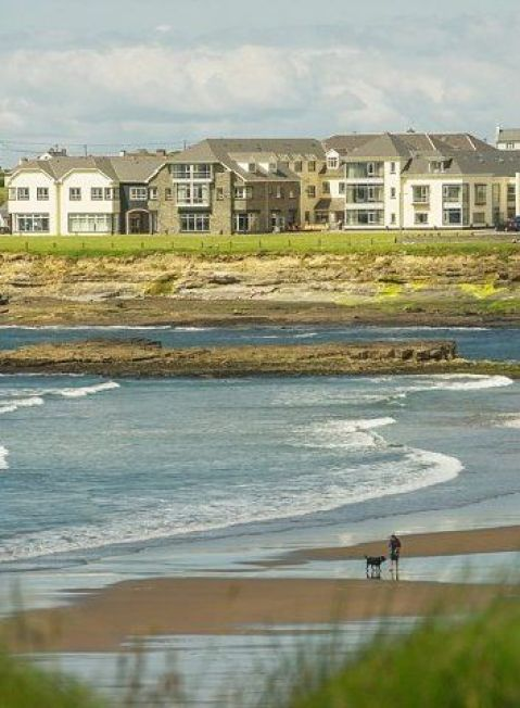 Beautiful sandy beaches at your doorstep for that early morning stroll with your dog. A perfect holiday at Armada Hotel, Spanish Point, Co. Clare