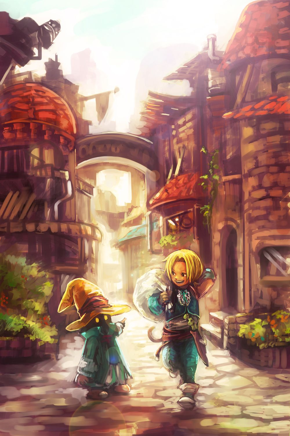 Zidane And Vivi In The Best Fan Art Ive Ever Seen For