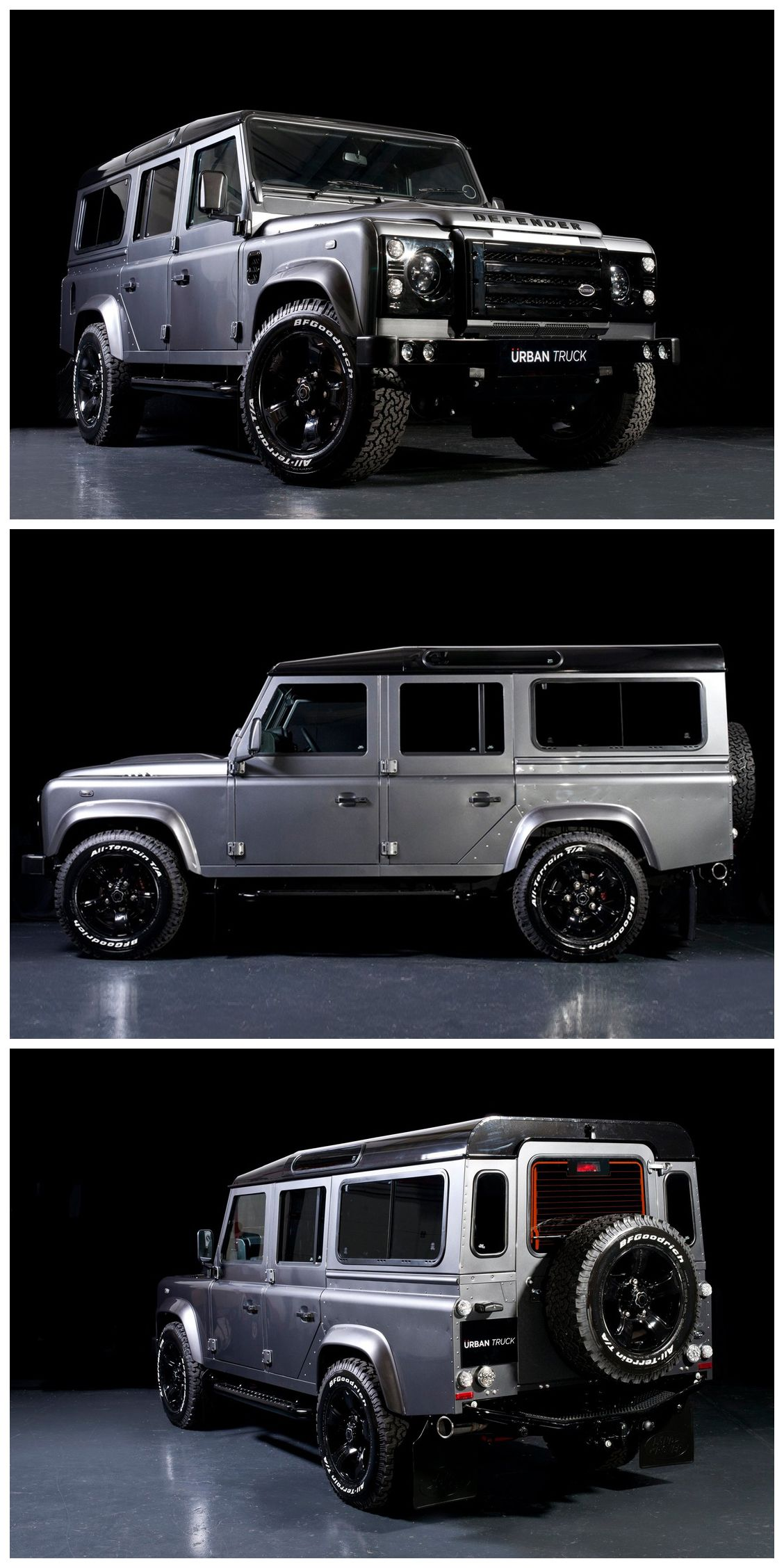 Land Rover Defender 110 Urban Truck Ultimate Edition