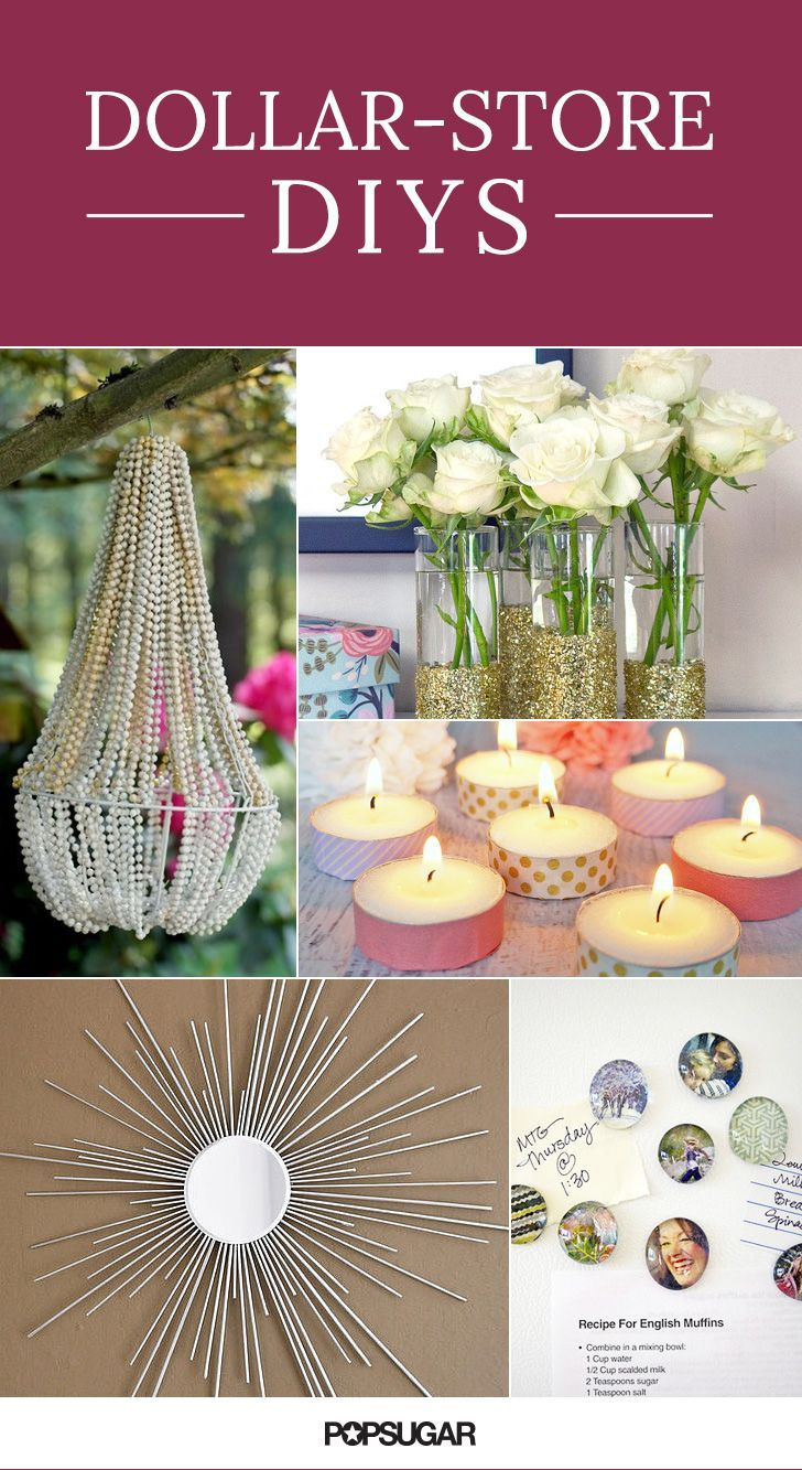 36 DollarStore DIY Projects to Try Out Dollar stores