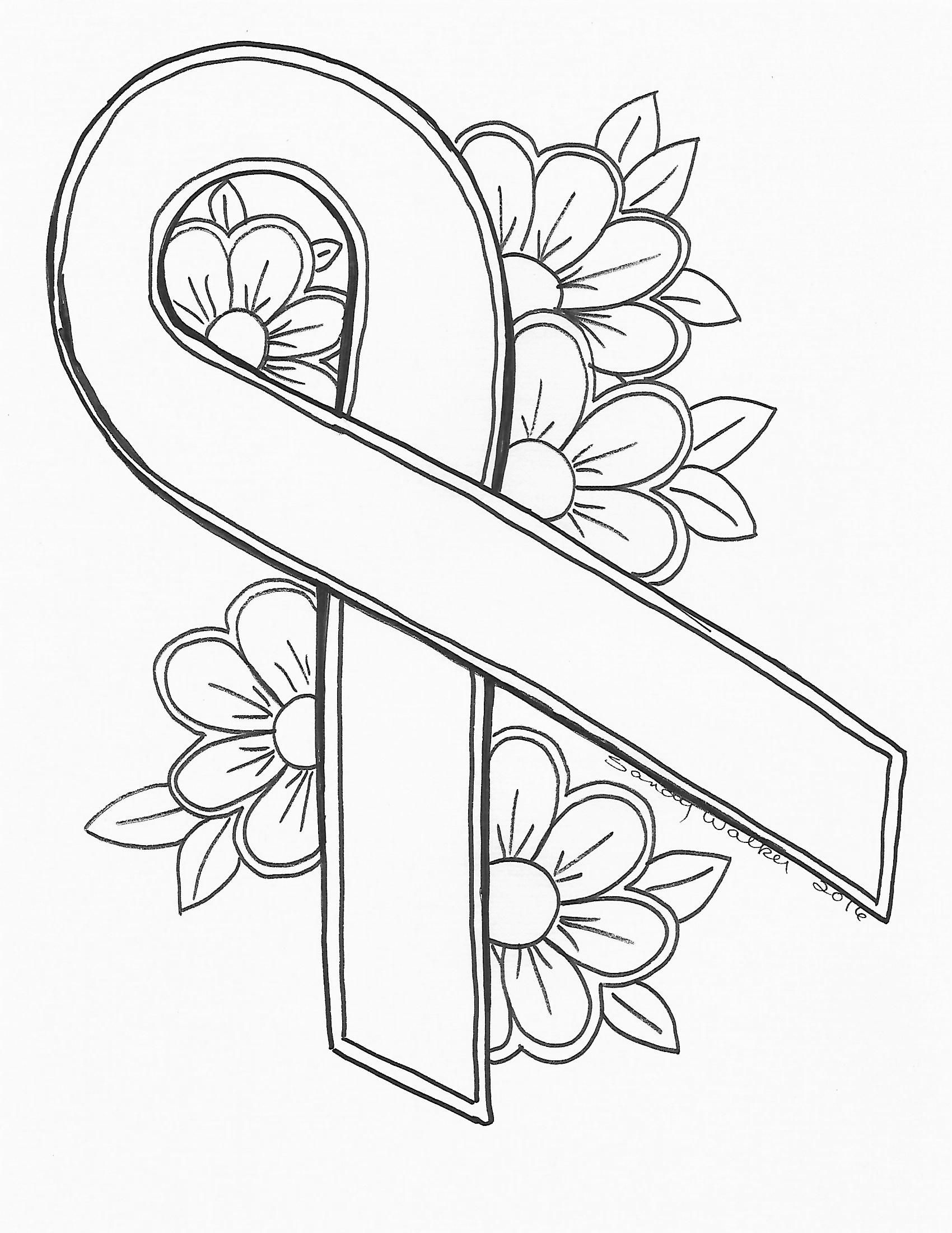 Lung Cancer Coloring Pages