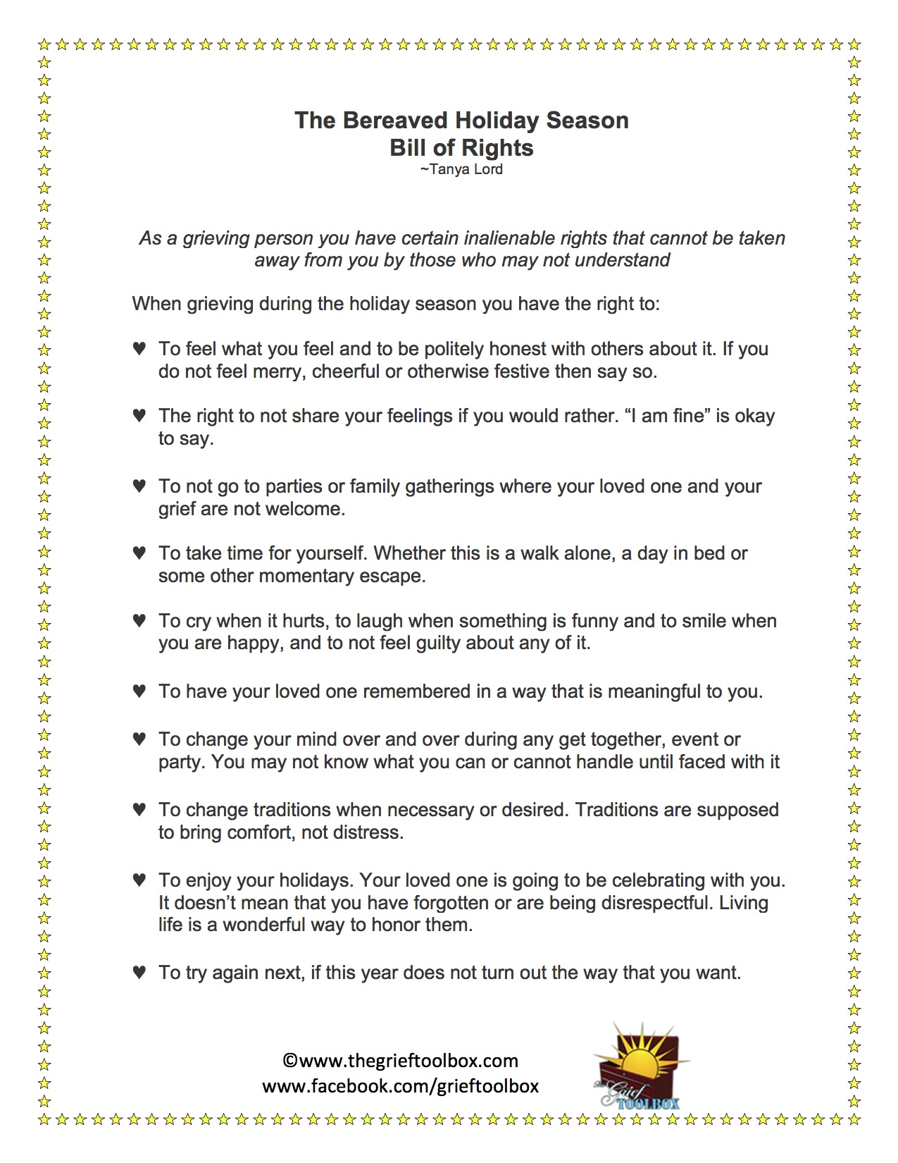 Holiday Blues Worksheet