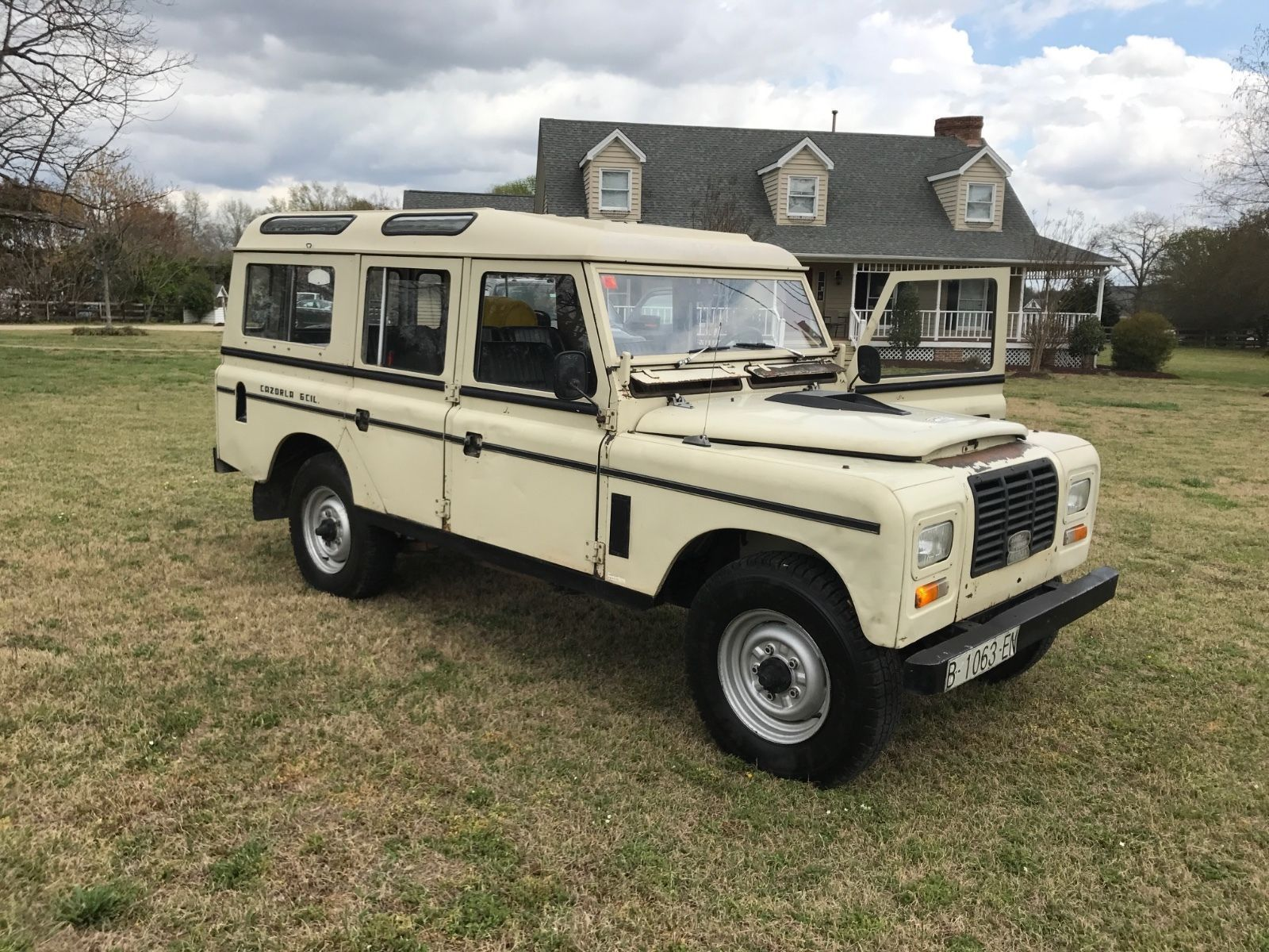 Cool Awesome 1980 Land Rover Defender SERIES III 1980 LAND ROVER