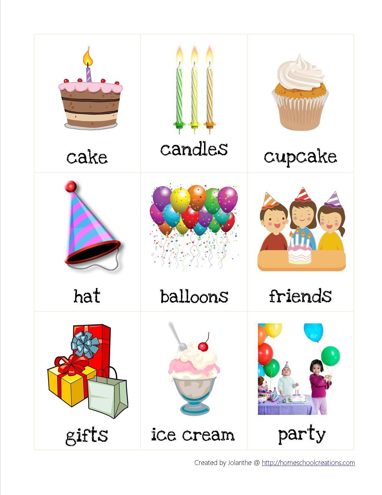 Birthday Preschool Pack Printables Book Ideas Etc Use During A Birthday Week