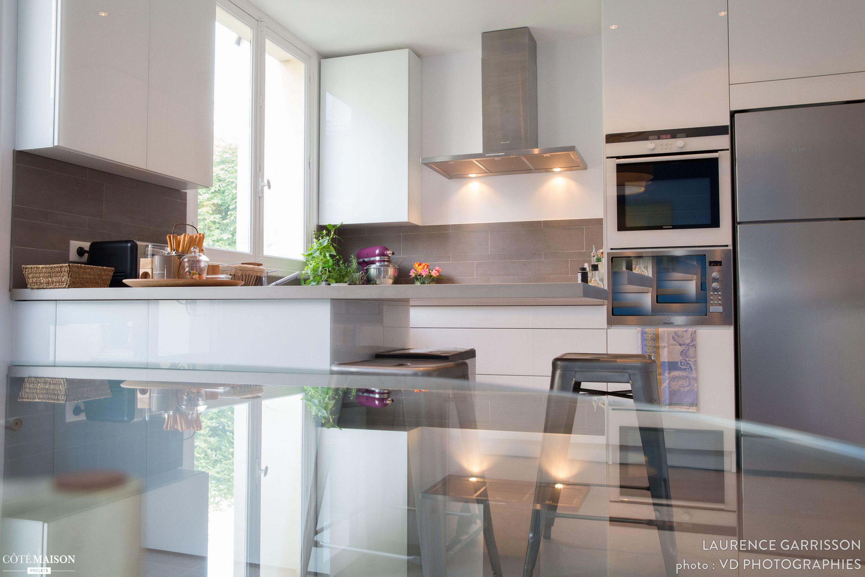 epure et design pour une cuisine verriere a neuilly laurence garrisson cote maison projets