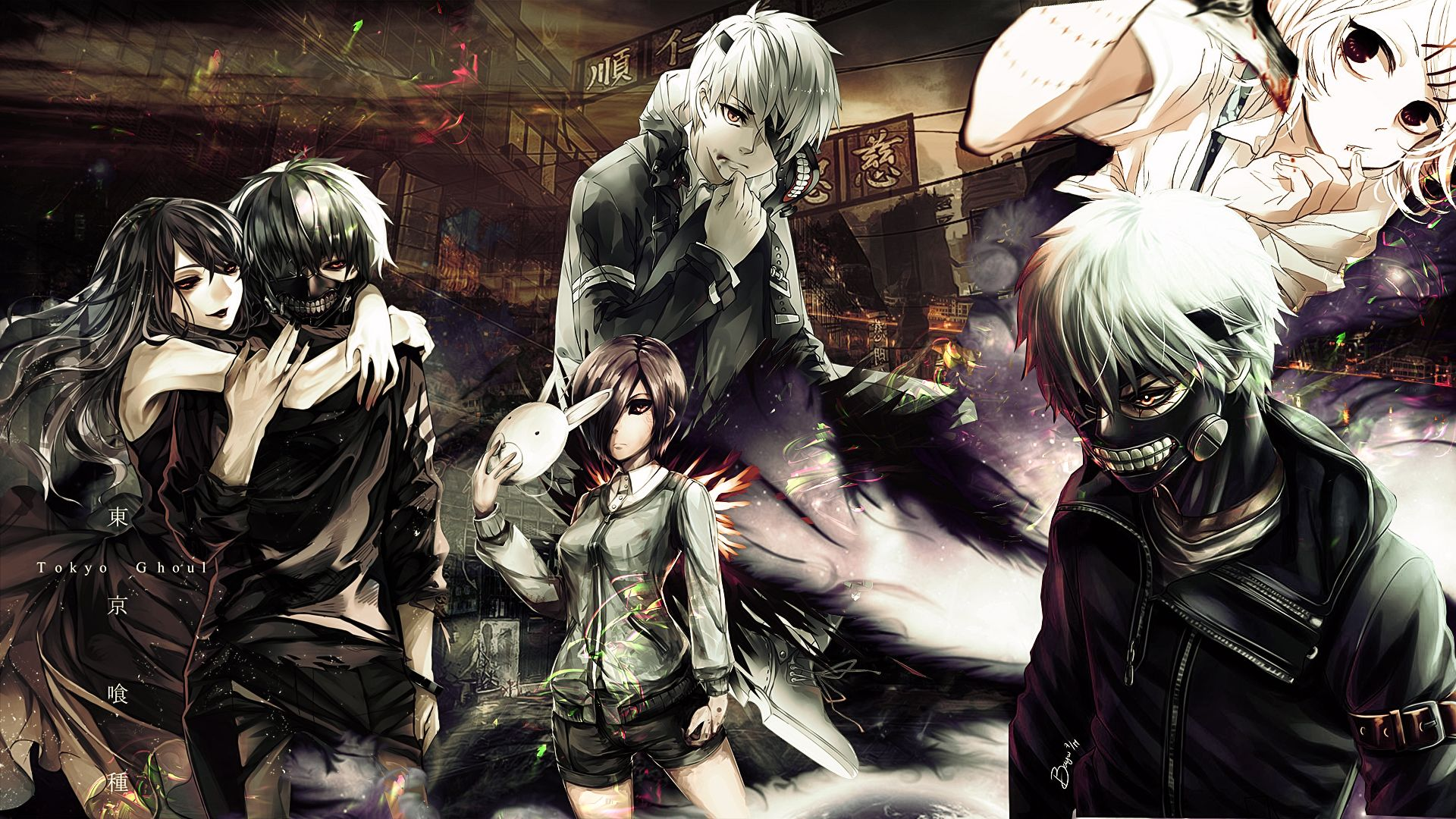Anime Tokyo Ghoul Root A With Anime Wallpaper Also Kaneki