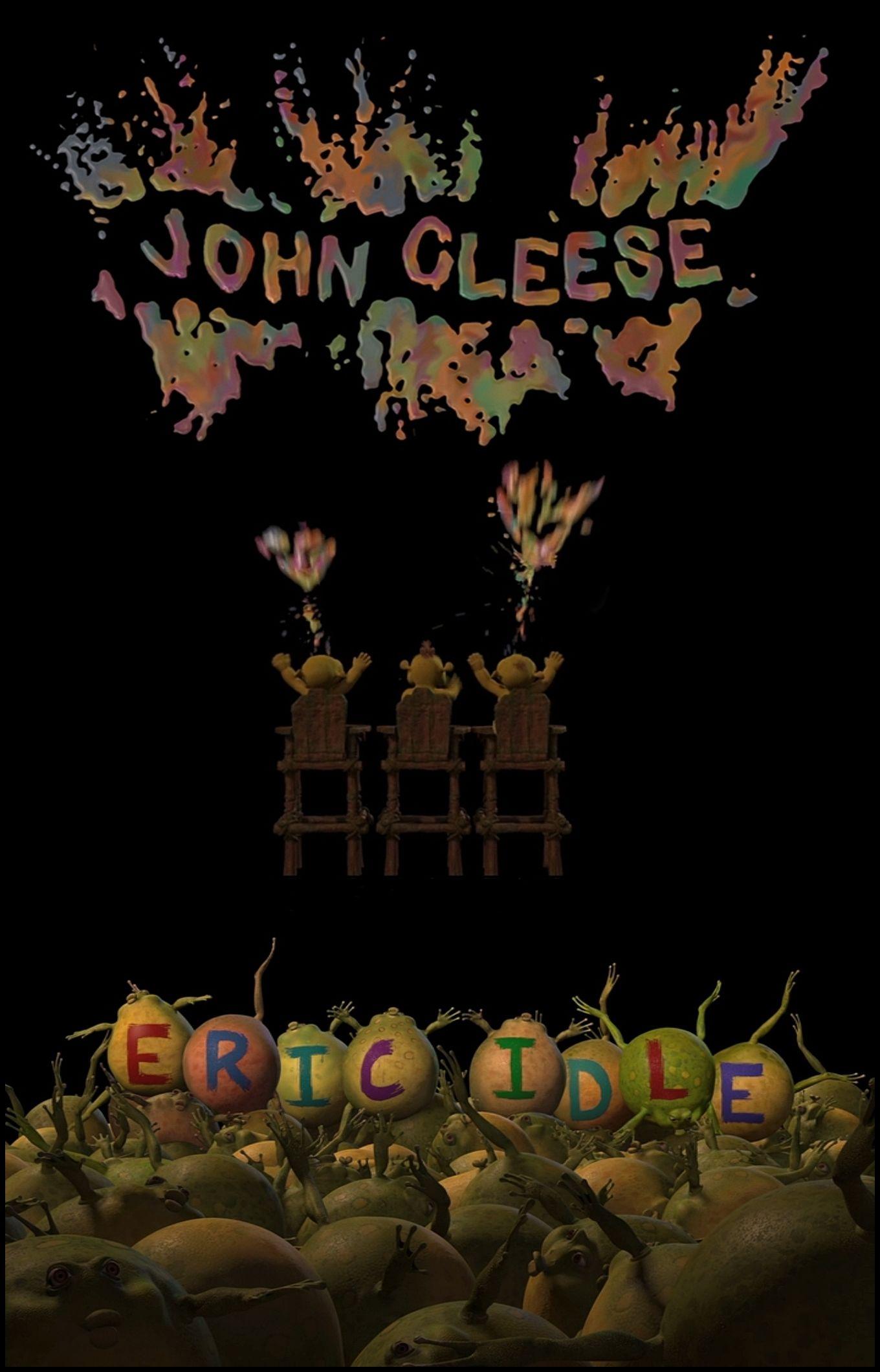 Pythons on Shrek the third John Cleese & Eric Idle