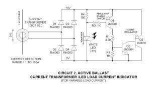 Current Transformer AC Load Indicator LED | Useful