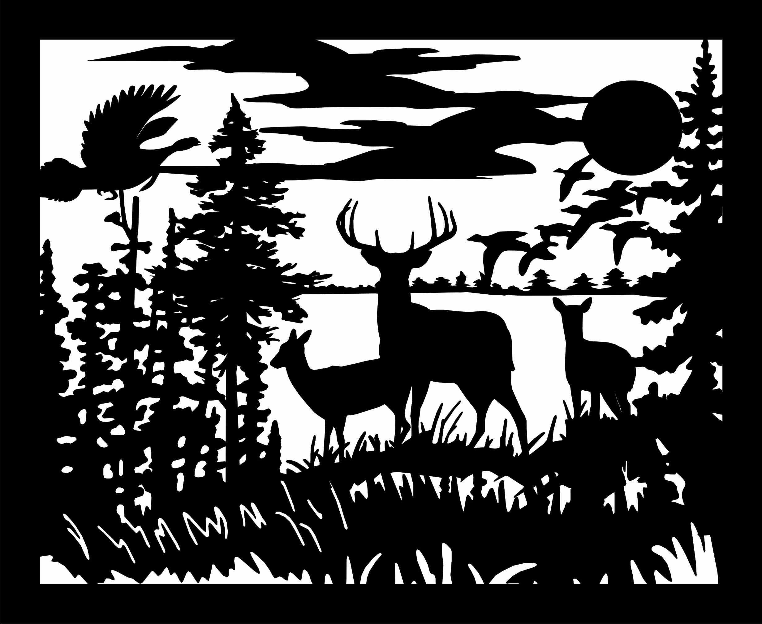 Farm Scene Silhouette Signs, . STALEGRAFIKA Pinterest