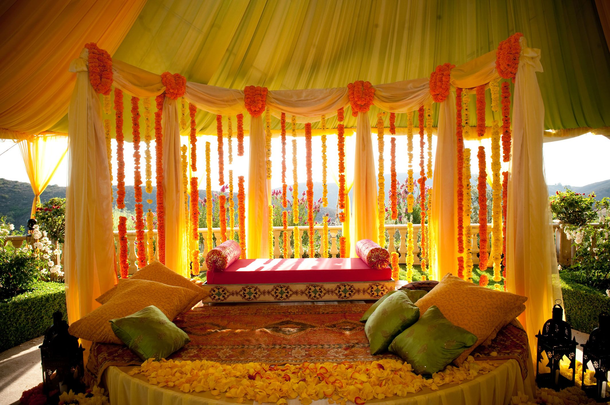 Indian Weddings Mehendi Decor Indian Wedding Decorator