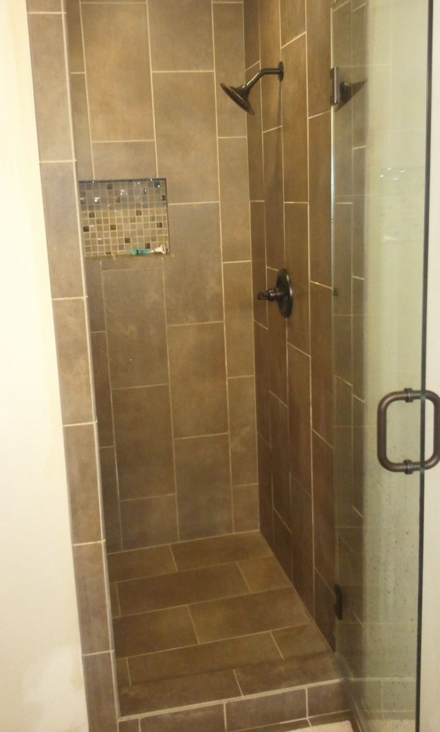 Bathroom Shower Ideas Tile Round Tiles Give A Pebbled Look And