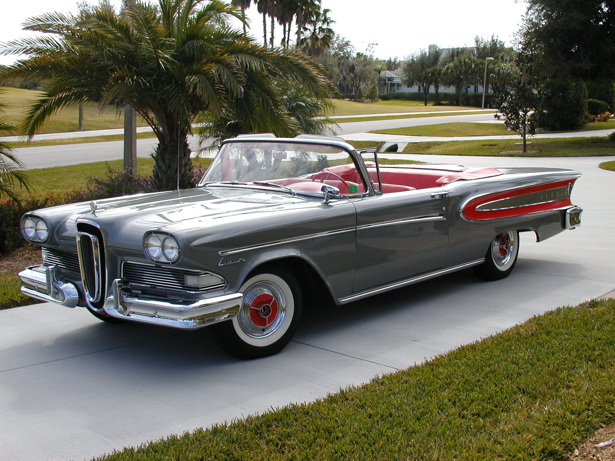 1958 EDSEL CITATION CONVERTIBLE Cars and Trucks from the