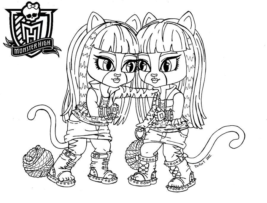 1000 images about monster high coloring pages on pinterest