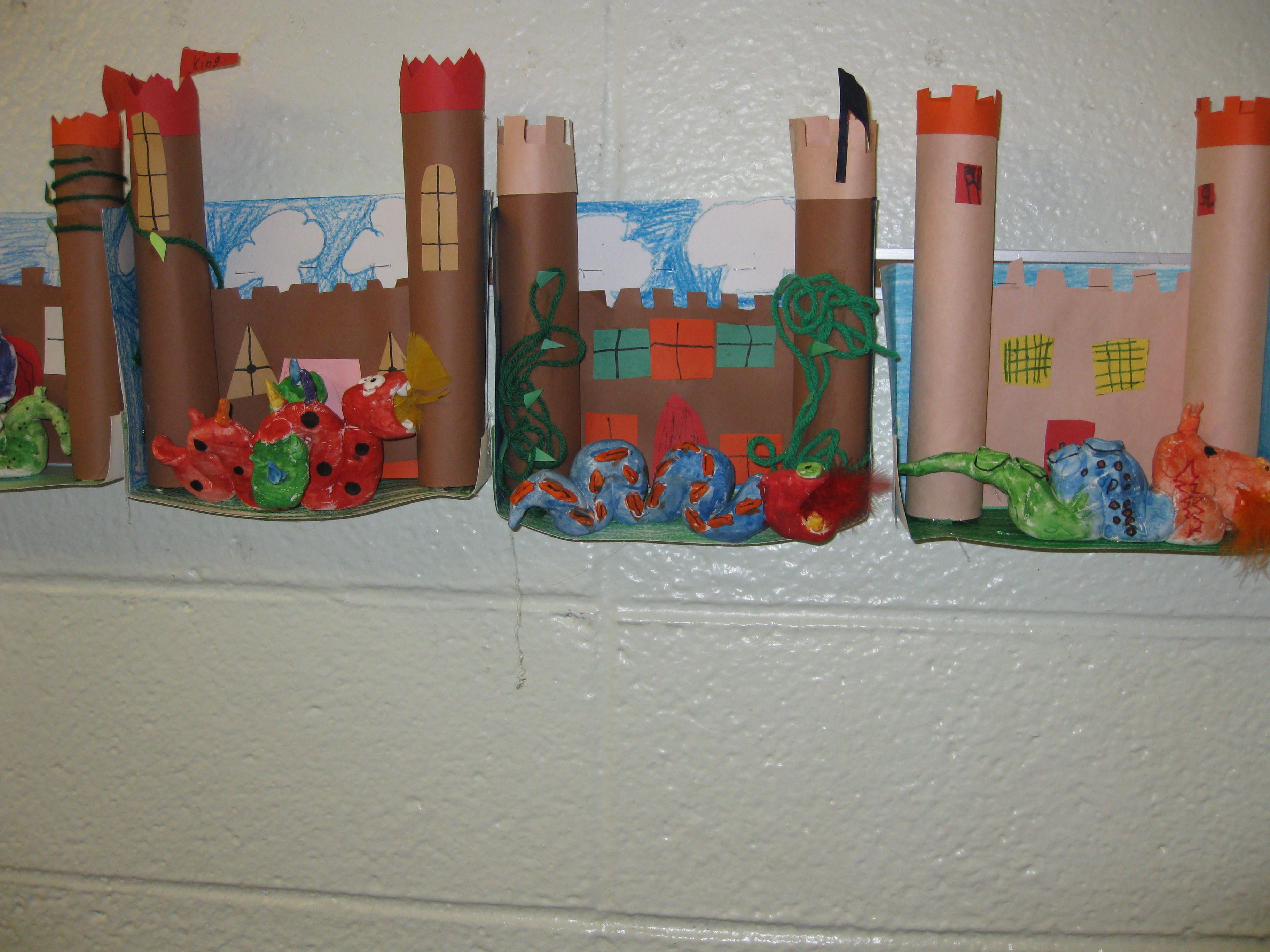 Welcome To Our Kingdom Guarded By Dragons Of Clay