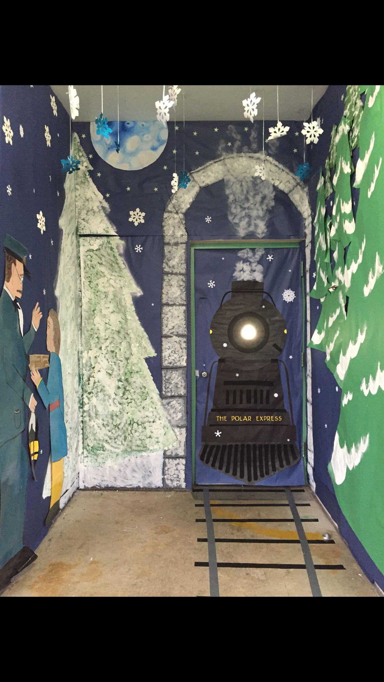 The Polar Express Door Decor