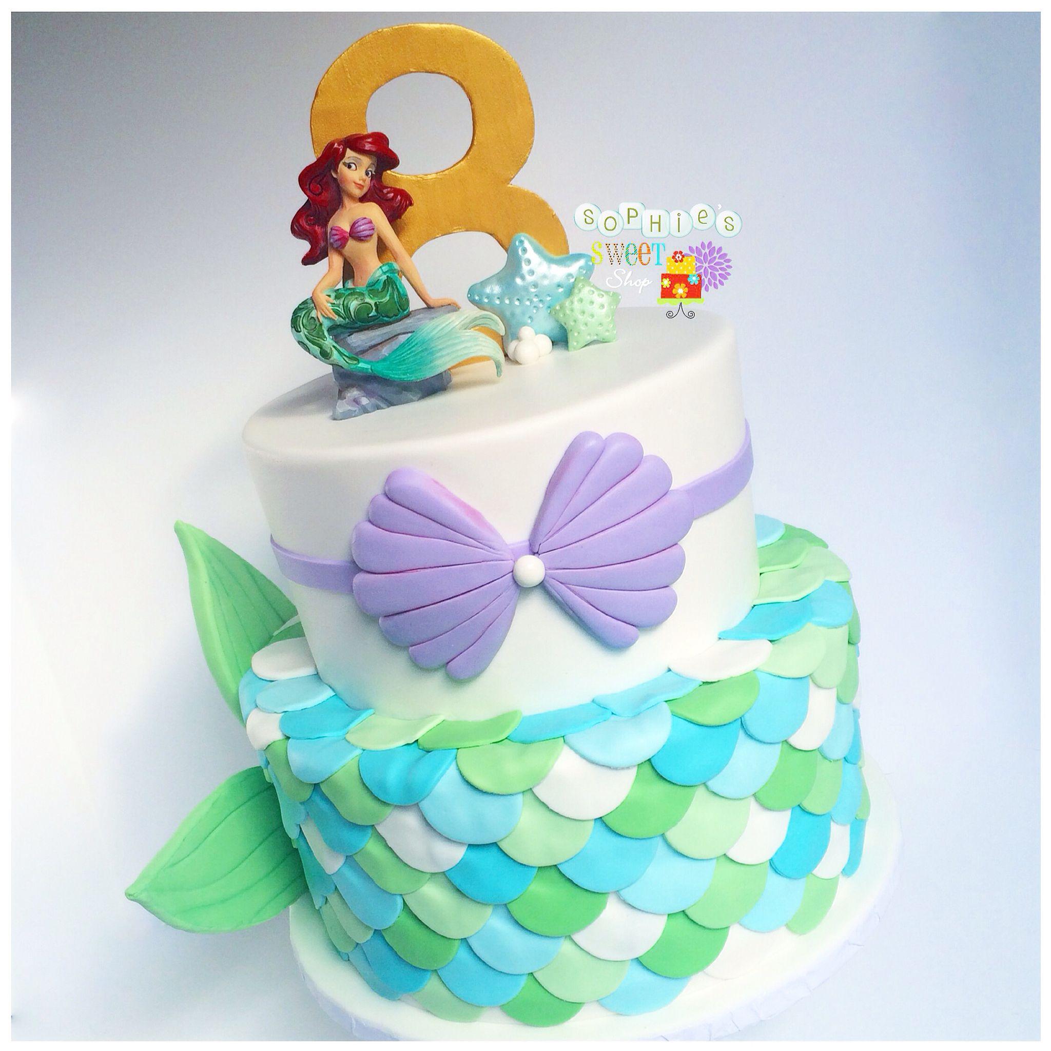 Little Mermaid Cake Mermaid Scales Sea Cake Instagram