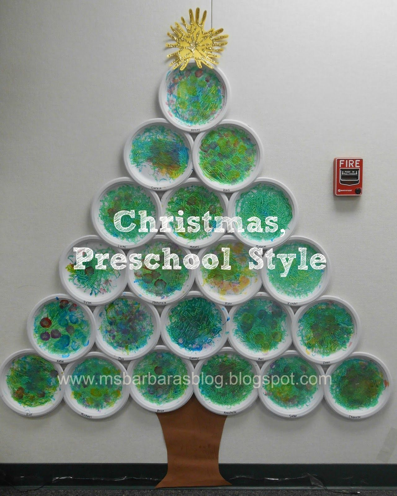 For The Children Christmas Preschool Style What An Awesome Holiday Classroom Love All The