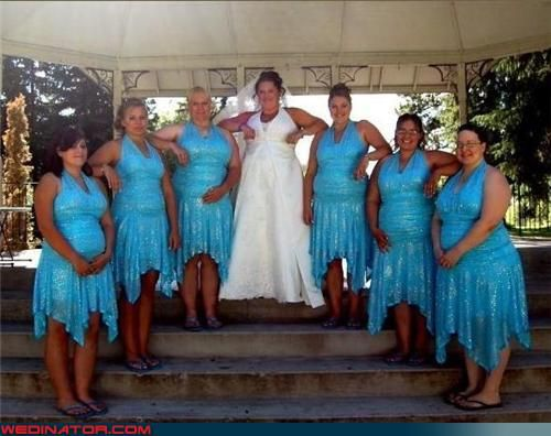Ugly Bridesmaid Dress Pictures